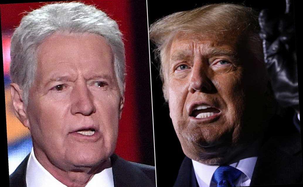 Trump among long-shots to replace Alex Trebek as 'Jeopardy!' host