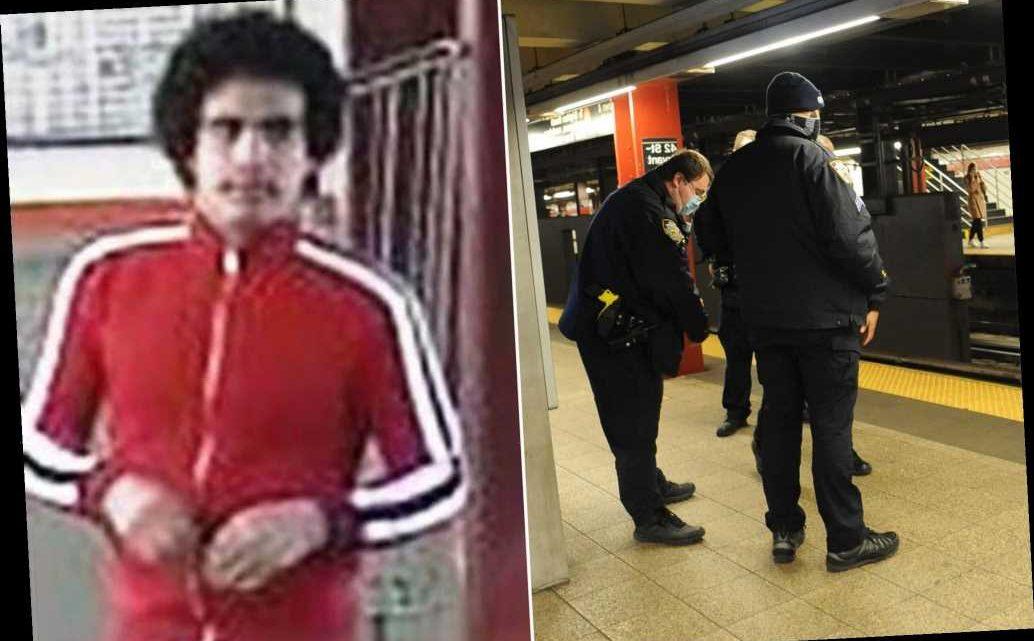 Cops arrest suspected panhandler who shoved man on NYC subway tracks
