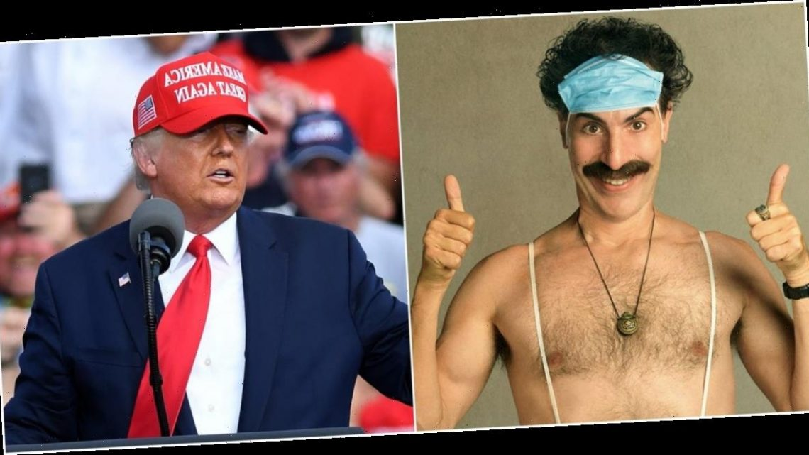 How Sacha Baron Cohen hijacked the political conversation ahead of the US presidential election with 'Borat 2'