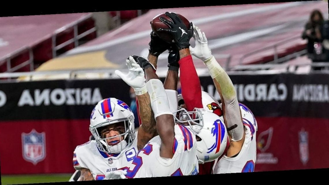 Cardinals win with miraculous Hail Mary when DeAndre Hopkins out-jumped three Bills defenders to make the game-winning catch