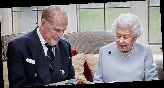 Queen Elizabeth and Prince Philip posed for a new portrait to celebrate 73 years of marriage