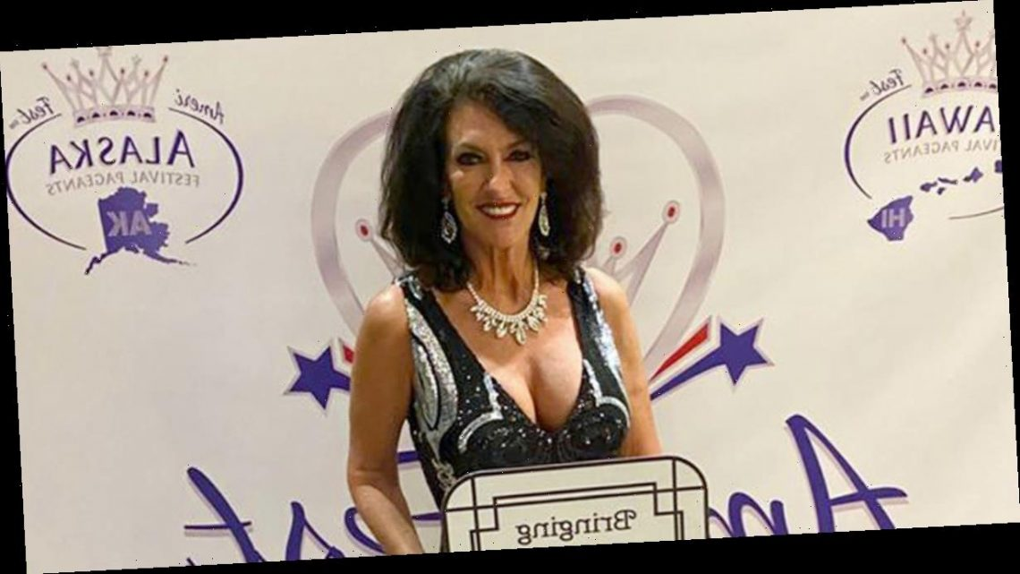 Glam gran proves age is just a number after winning beauty pageant title at 60