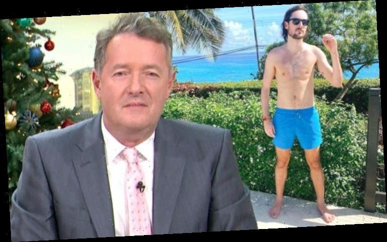 Piers Morgan: Tier 4 travels as son escapes to the sun 'Farewell to an absolute shambles'