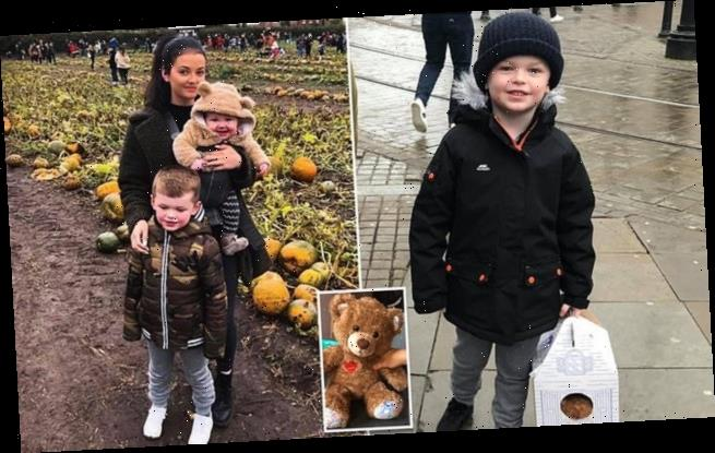 Mother 'speechless' after grieving stranger gave a teddy to her son