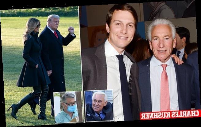 Trump pardons Jared Kushner's father, Roger Stone and Paul Manafort
