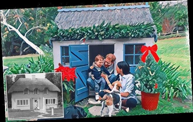 Prince Harry and Meghan treated son to a 'custom £5,000' playhouse