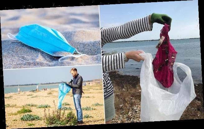 Pink pants among top ten weird things found on beach litter picks