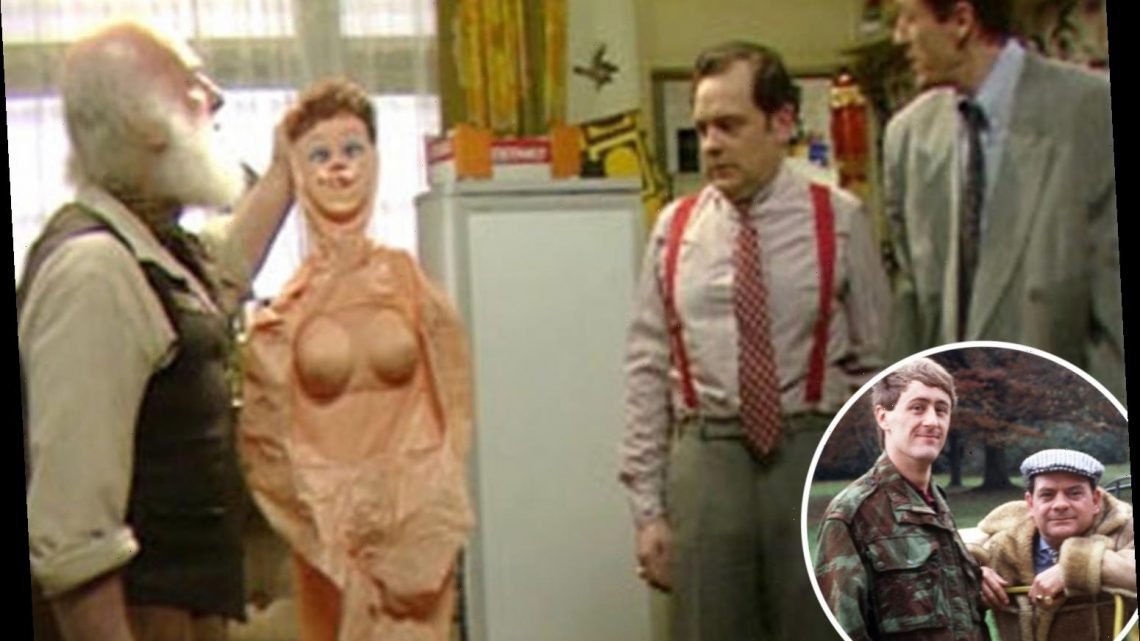 Only Fools and Horses doc reveals sitcom's quick-thinking costume department saved blow-up sex dolls episode from axe