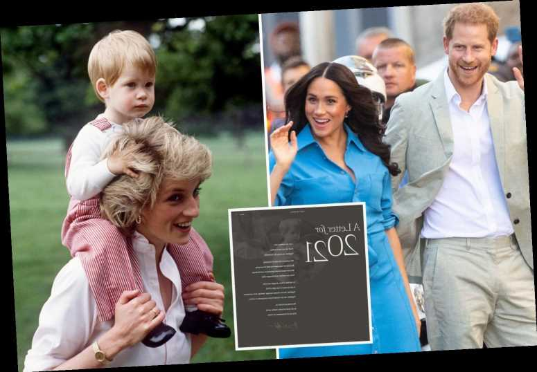 Meghan Markle & Prince Harry's touching nod to Princess Diana as they call for 'compassion' in Archewell website launch