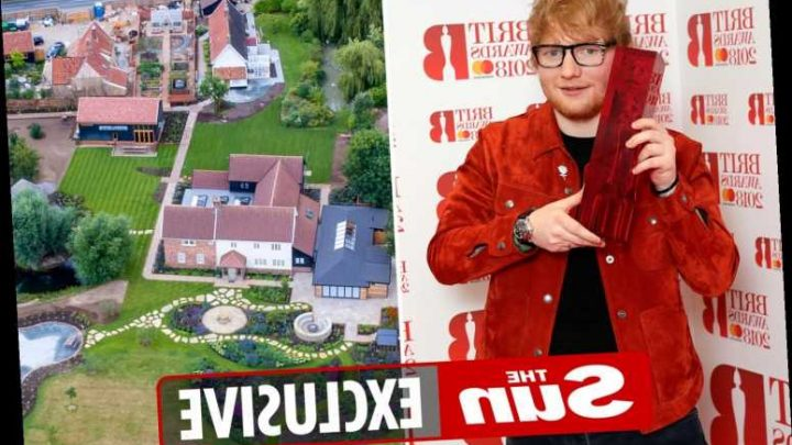 Ed Sheeran's fears over neighbours plans to build caravan park next to his £3.7m Suffolk home