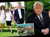 Trump's Mar-a-Lago home 'being renovated and Melania vetting schools for Barron, 14, as family prepares move from DC'