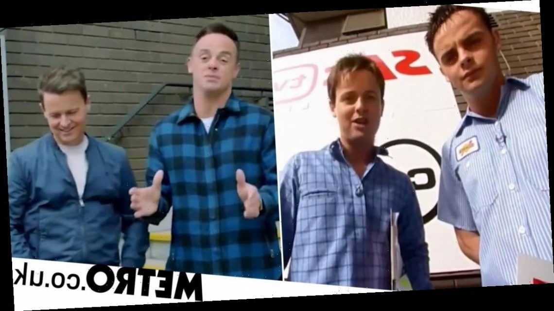 Ant and Dec take us right back to first SMTV Live in new look at reunion special