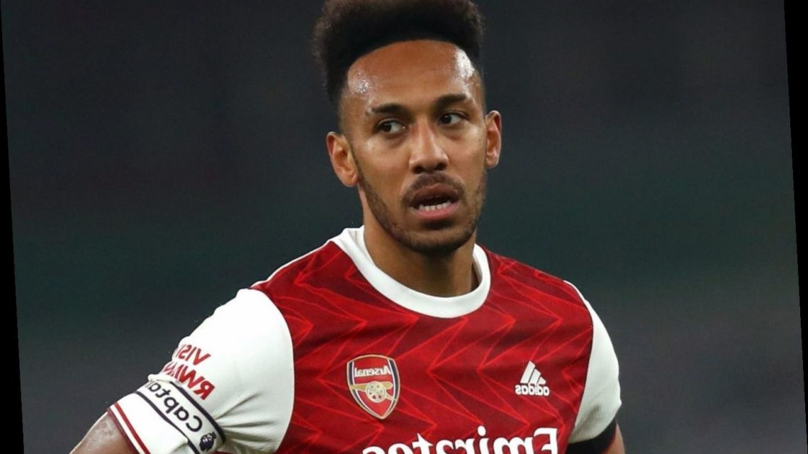Aubameyang tells Arsenal team-mates to make crunch North London derby a 'turning point' in underwhelming season
