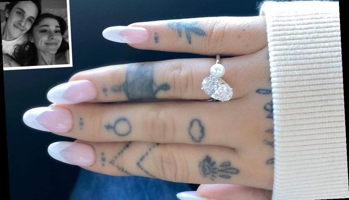 All About Ariana Grande's Diamond and Pearl Engagement Ring: 'It's Very Sentimentally Special'