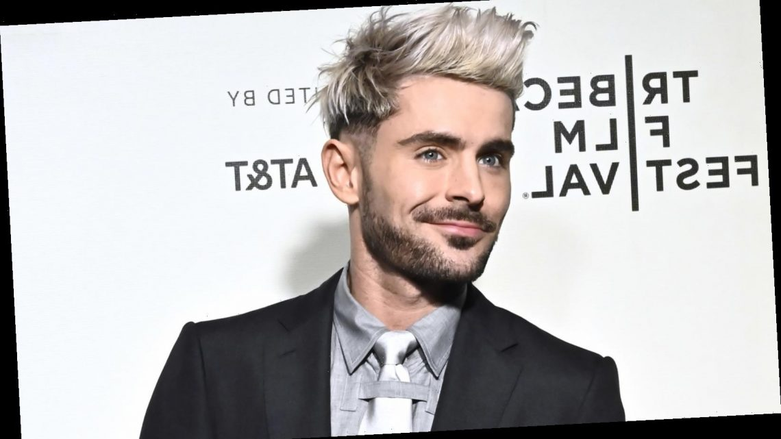 Zac Efron Just Revealed A Bold New Haircut – The List