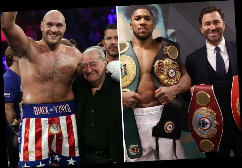 Anthony Joshua vs Tyson Fury deal 'close', Eddie Hearn reveals with talks progressing well for May or June mega-fight