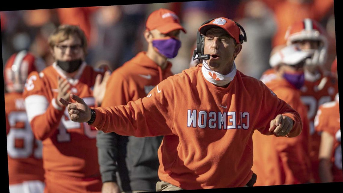Clemson's Dabo Swinney puts Ohio State out of his top 10 in coaches' poll