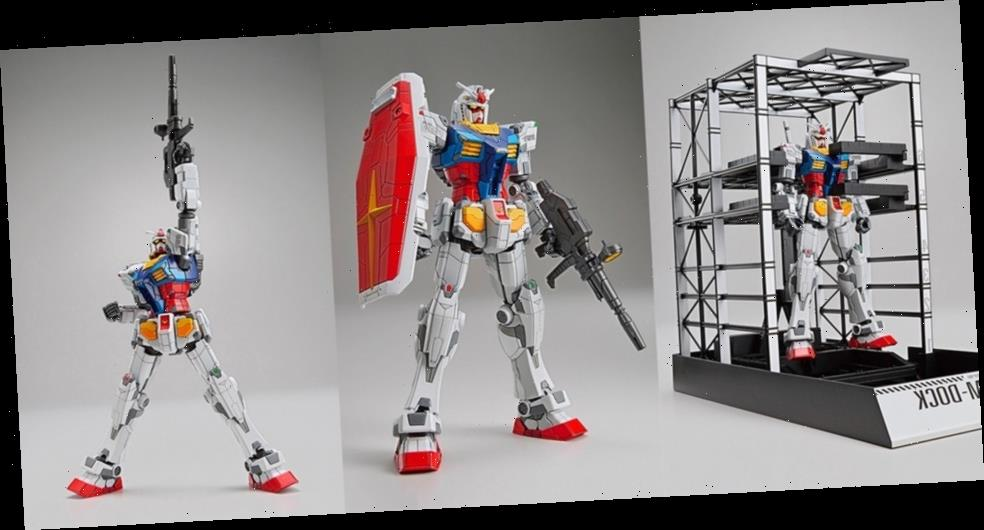 Own Your Personal 1/144-Scale Model of the Gundam Factory Yokohama RX-78F00