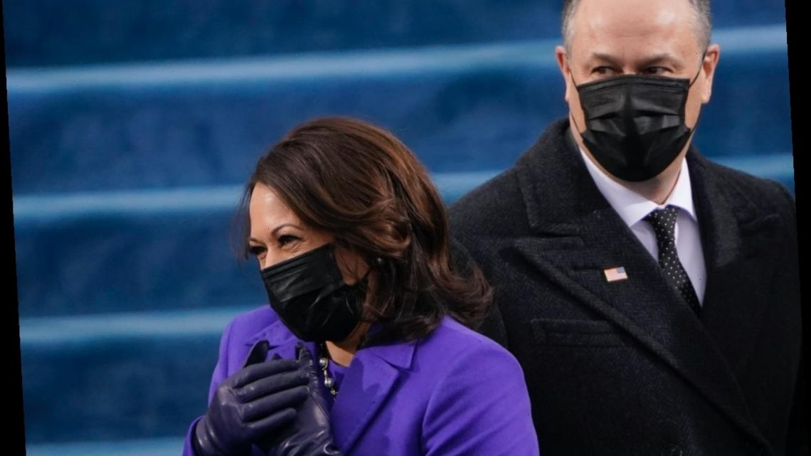 Kamala Harris & Doug Emhoff's Inauguration Day 2021 Body Language Is Telling
