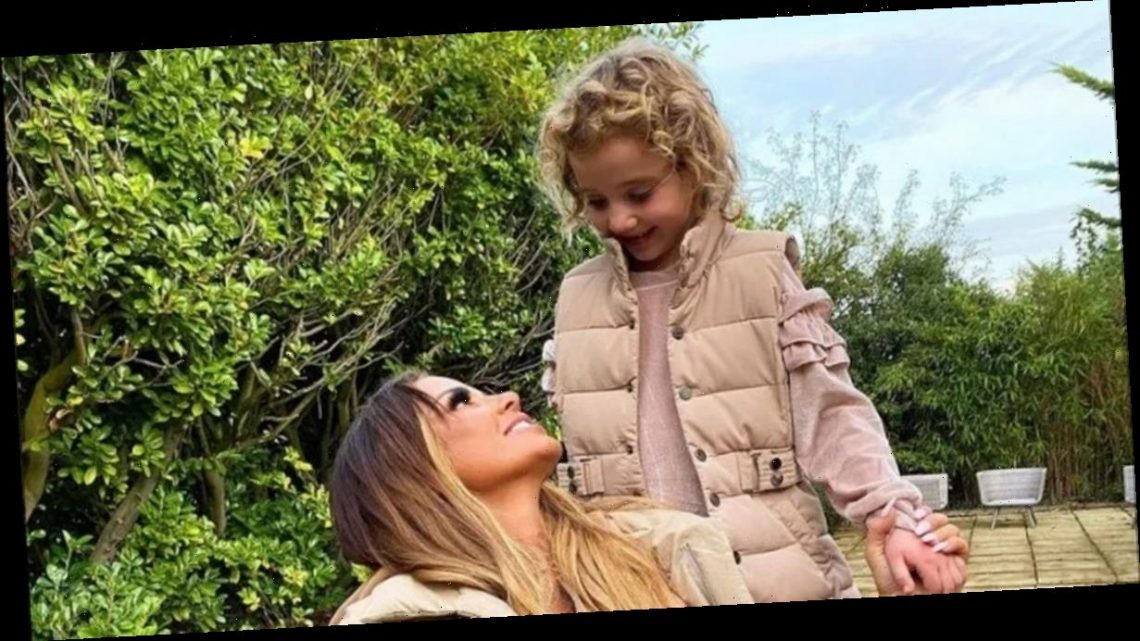 Katie Price's daughter Bunny looks just like her double after wig makeover
