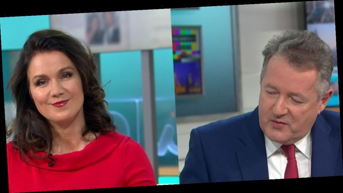 GMB Susanna Reid insists she's 'here too' amid Piers Morgan's MP takedown praise