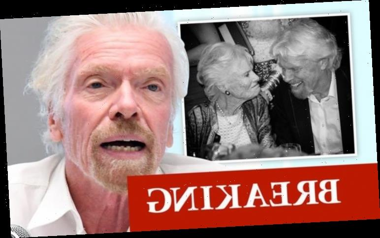 Richard Branson heartbroken as mother Eve dies aged 96 after coronavirus battle