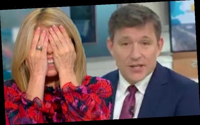 Kate Garraway left squirming over Ben Shephard's 'undercarriage' remark: 'That escalated!'