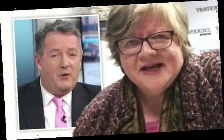 Thérèse Coffey hangs up on Piers Morgan after being caught out on GMB 'insulting!'