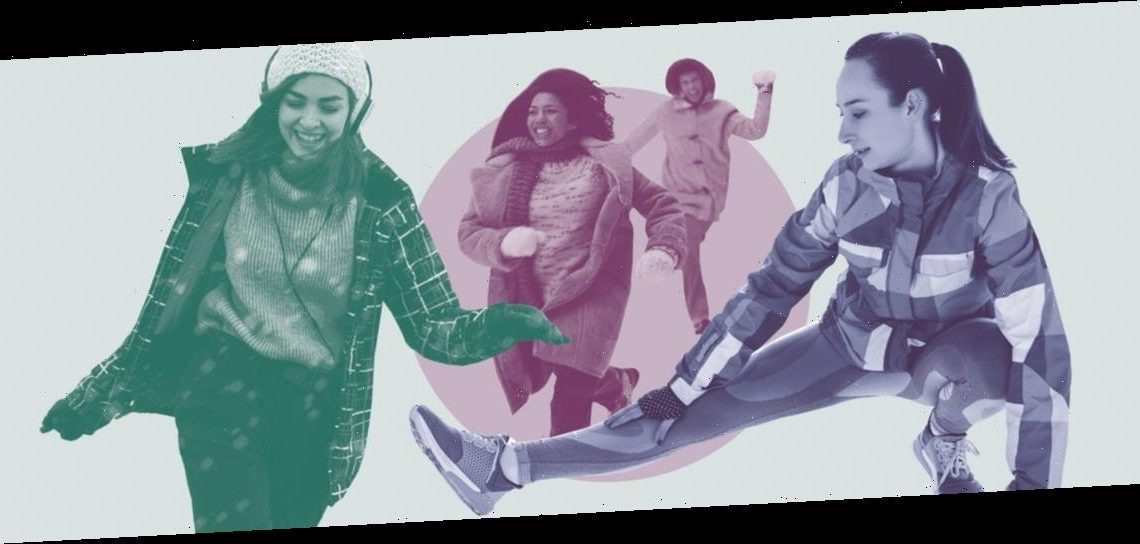 12 Fun Outdoor Winter Fitness Activities You Won't Want To Flake On