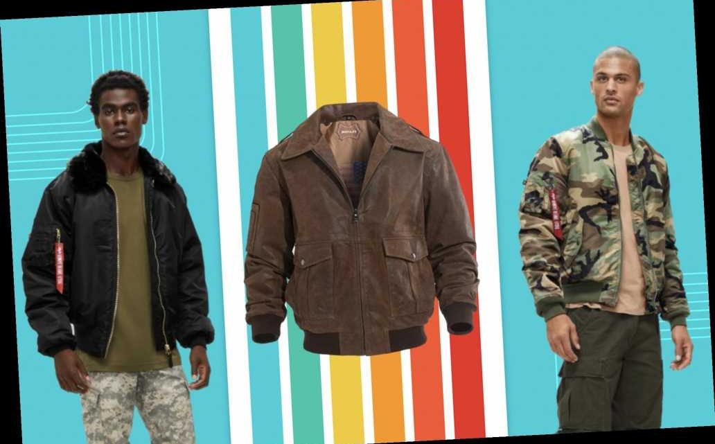 7 men's flight bomber jackets to add to your wardrobe — as low as $29