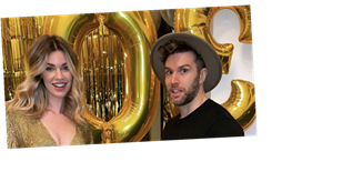 Joel Dommett throws wife Hannah Cooper an incredible lockdown birthday with virtual salsa class and home spa
