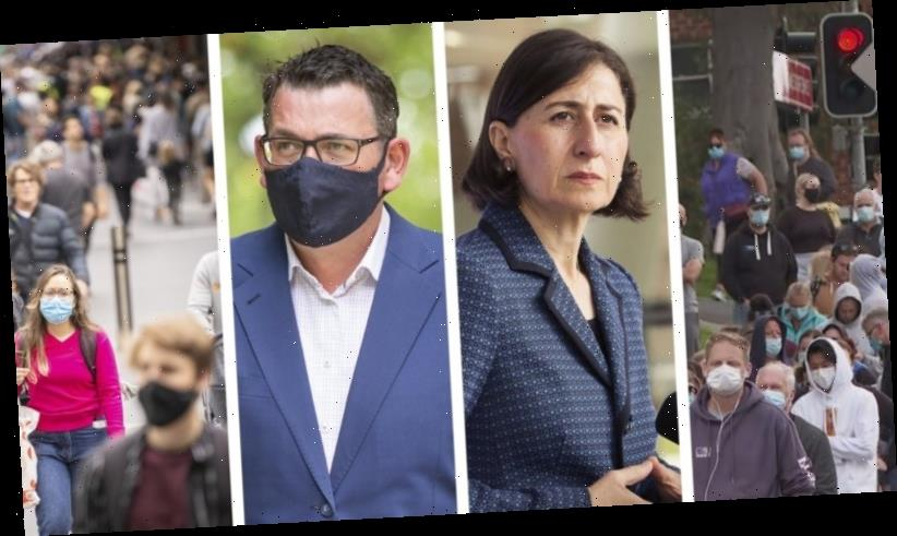 Coronavirus updates LIVE: Brisbane awaits news on end to lockdown; stranded Victorians hope for border review; NSW Premier opens new front in borders wars