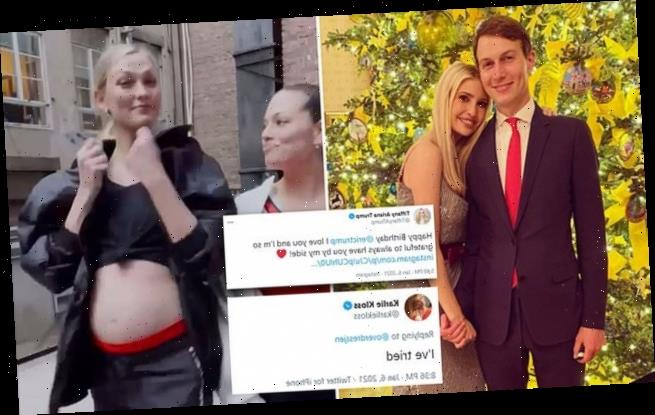 Ivanka and Jared are publicly shamed by sister-in-law Karlie Kloss