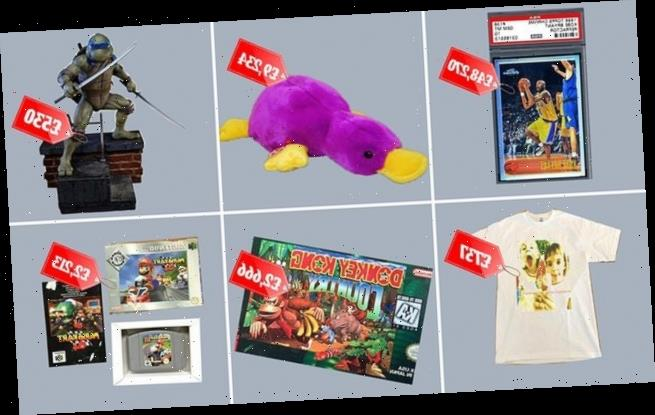 Experts reveal profitable 90s collectables which could fetch thousands
