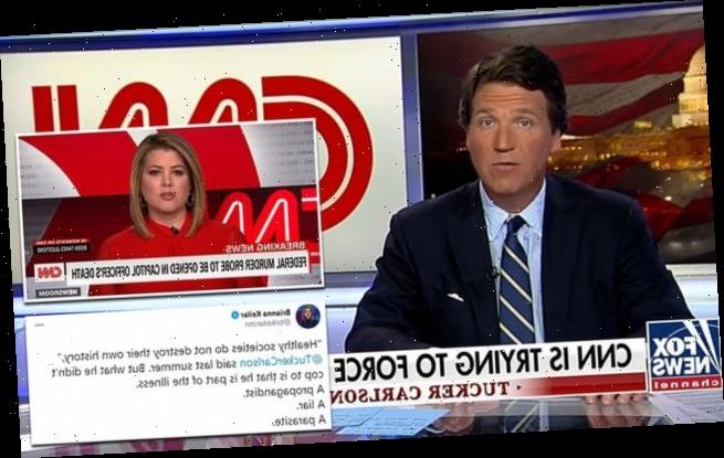 Tucker Carlson taunts CNN saying Fox will be around for a long time