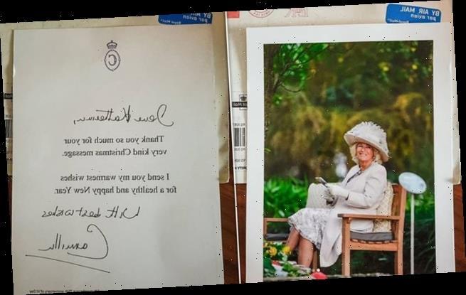Duchess of Cornwall thanks royal fans who wrote at Christmas