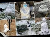 People share snaps of their VERY impressive snowmen
