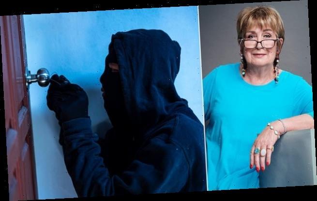JENNI MURRAY:The day I forced my burglar to do the washing- up