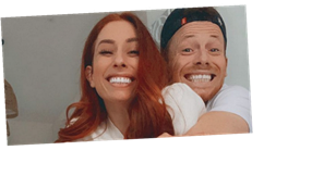 Stacey Solomon unsure if she'll take Joe Swash's name when they marry – leaving him unimpressed