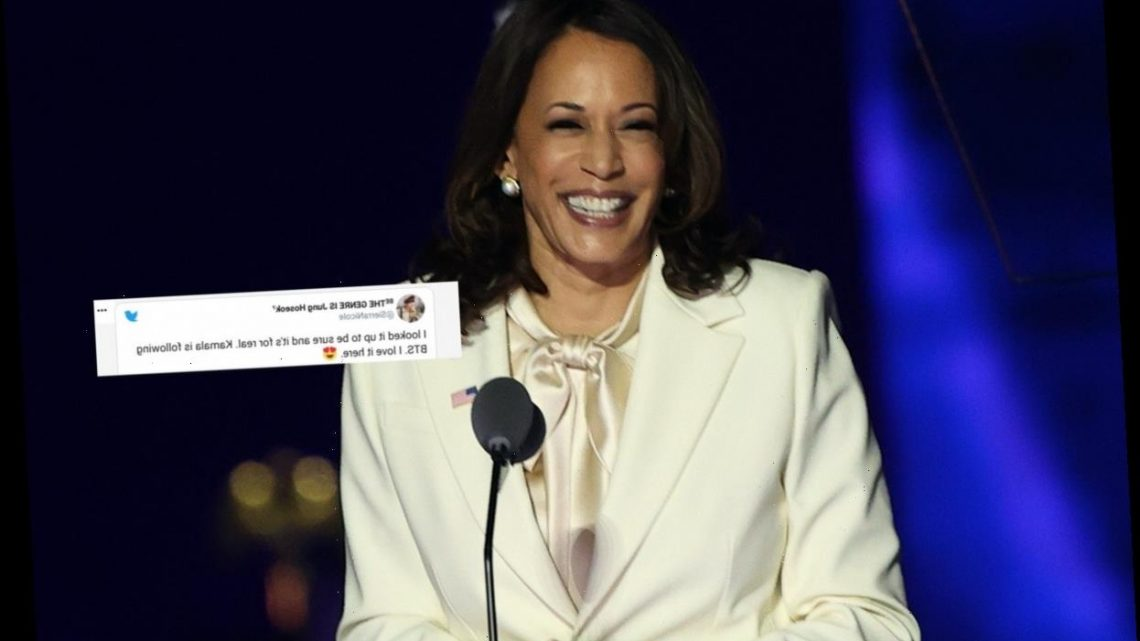 20 Tweets About Kamala Harris Following BTS That Capture ARMYs Excitement