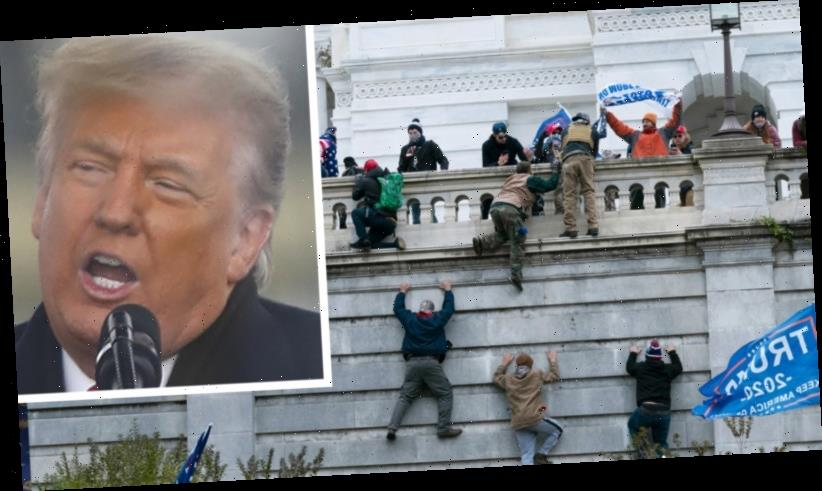 In video, after impeachment, Trump condemns deadly riot he fomented