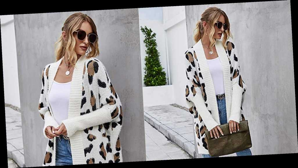This Leopard-Print Cardigan Is the Key to Consistent Compliments