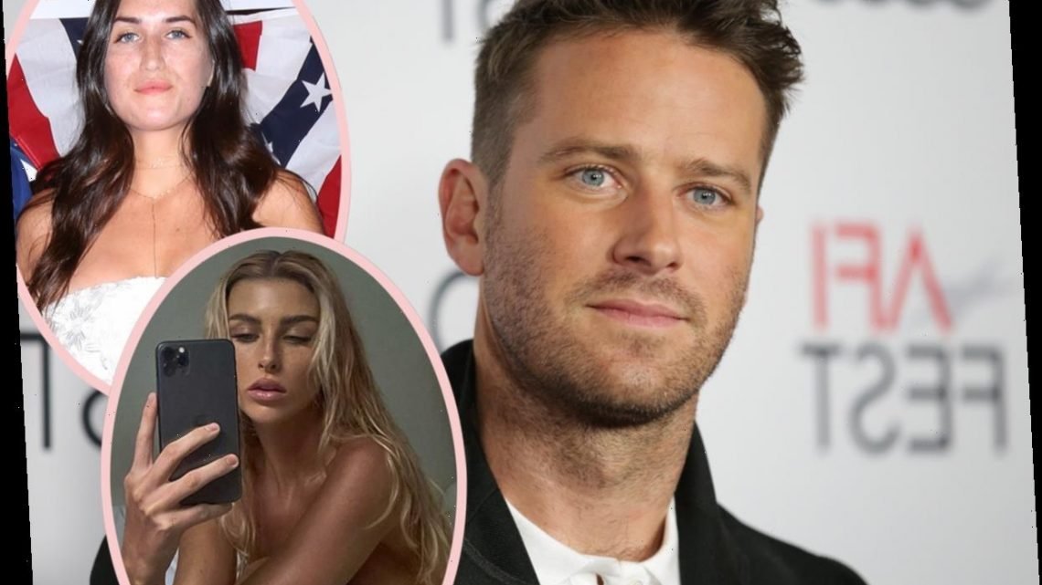 How Armie Hammer's Rumored Girlfriends Have Responded To His Disturbing DM Controversy