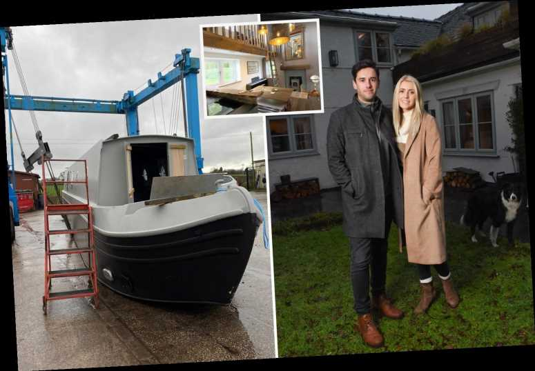 We swapped our £400k dream home for a barge – despite being plagued by sea sickness we'll save £325k
