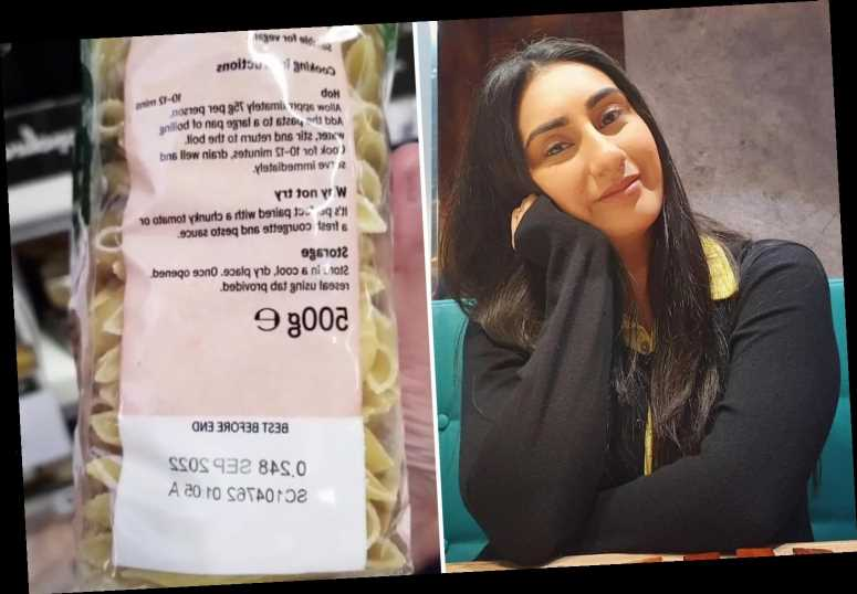 Woman reveals 'secret' codes on back of food packets which cut her weekly shopping bill in half