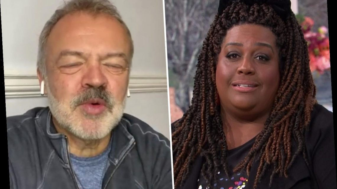 This Morning's Alison Hammond apologises after mortifying moment with Graham Norton as she asks after his dead dog