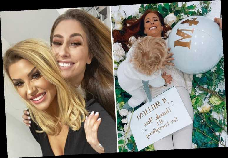 Stacey Solomon praised by BFF Mrs Hinch as she overtakes her with four million followers