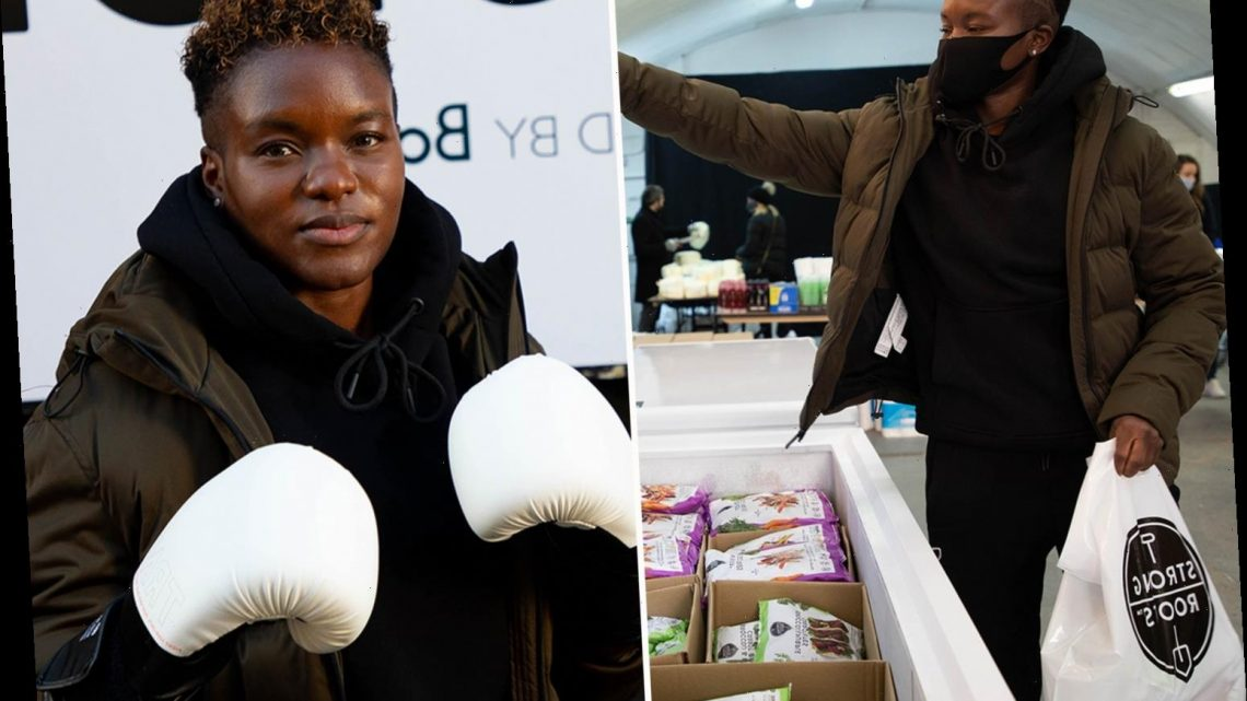 Strictly star Nicola Adams helps fight food poverty by launching a frozen vegetable bank