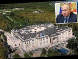 Vladimir Putin's '£1bn palace' with stripper pole is 'removed from Russian maps' amid West spying fears