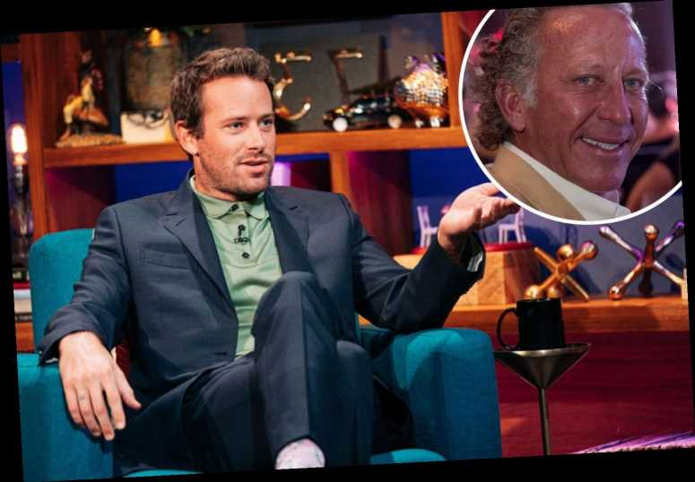 Who is Armie Hammer's father and is the actor related to Armand Hammer?